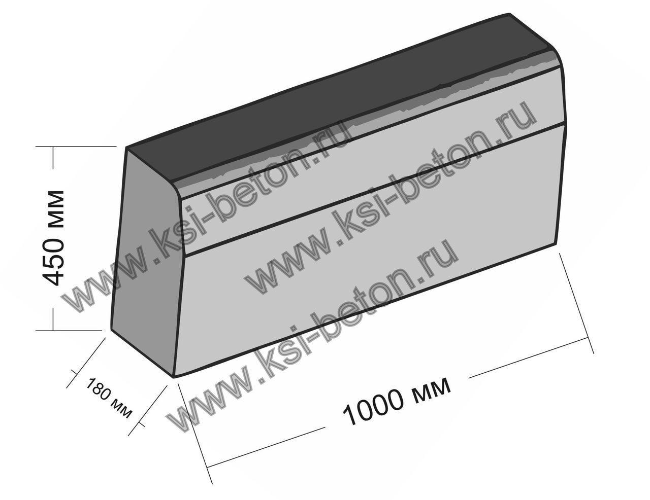 Бордюрный дорожный камень вес плиты перекрытия многопустотные безопалубочные